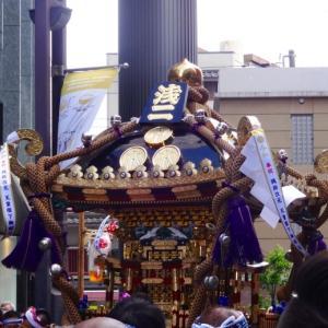 令和元年の浅草 三社祭