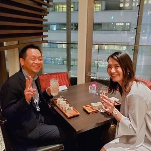 大阪で講習会受講後・・・