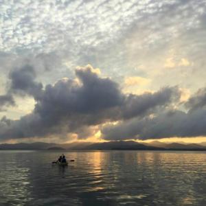 浜名湖シーカヤック!サンセットツアーのご案内。