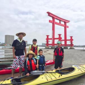 浜名湖シーカヤックツアーズからのご案内。