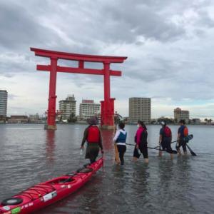 浜名湖でシーカヤック体験!!