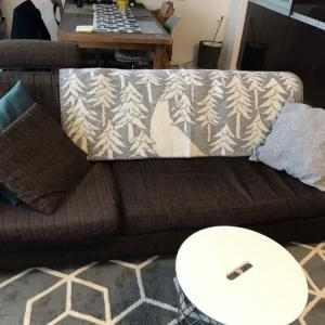 ソファーを冬仕様に…と楽天スーパーセール