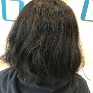 髪質改善ストレートエステ ボブ