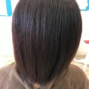 久しぶりの髪質改善縮毛矯正です!