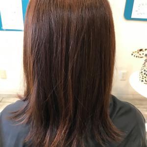 髪質改善縮毛矯正と和漢カラー