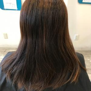 髪質改善縮毛矯正 スッキリボブ