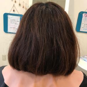 髪質改善縮毛矯正 ボブ