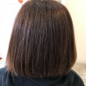 髪質改善縮毛矯正 2回目
