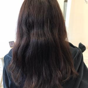 髪質改善縮毛矯正 ロング