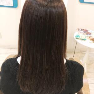髪質改善縮毛矯正をかけたら、髪が傷んで見えなくなった!