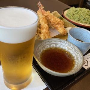 東千葉『馳走蕎楽 はるきや』の大葉ぎりせいろが爽やかでした