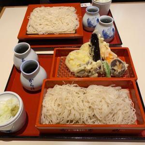 安定の『永坂更科布屋太兵衛』で野菜天御前蕎麦を頂く