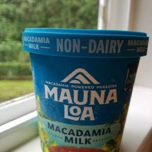 マカダミアナッツのアイスクリーム