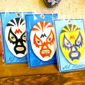 メキシコプロレス「ルチャリブレ」の壁飾り[Pick Up]