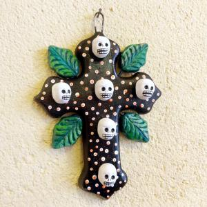 メキシコのガイコツの十字架[Pick Up]