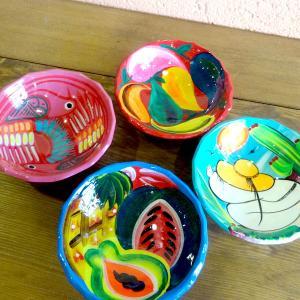 メキシコのカラフルな絵皿[Pick Up]