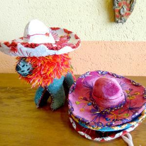 メキシコの帽子「ソンブレロ」のミニサイズ[Pick Up]