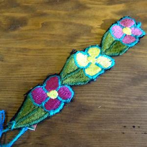 メキシコの刺繍のブレス[Pick Up]