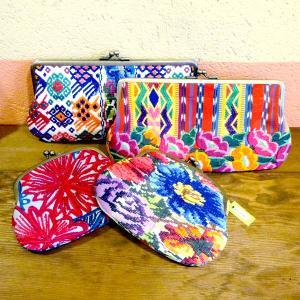 グアテマラの刺繍財布クラッチ[Pick Up]