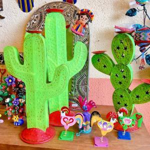 メキシコのサボテンのキャンドルホルダー[Pick Up]
