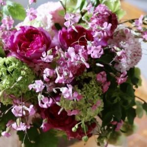 お花に癒されました(⑉︎• •⑉︎)♡︎
