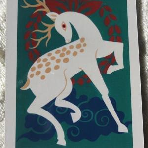 今日のメッセージ★日本の神託カード【神々の使者鹿】野生のカン★