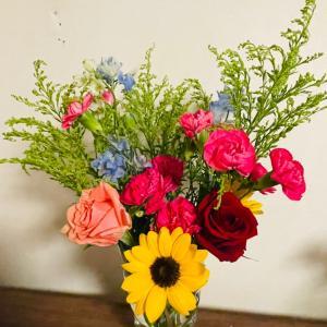 7月前半のお花は・・・