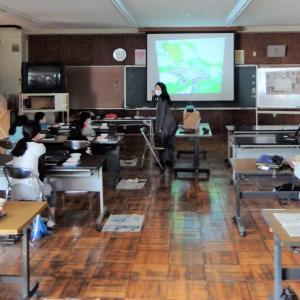 第102回 小学校で墨画ワークショップ  2020年秋