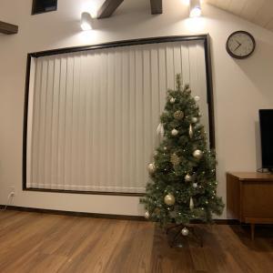【クリスマスツリー購入】リビングに150㎝のツリーを飾ってみた感想!