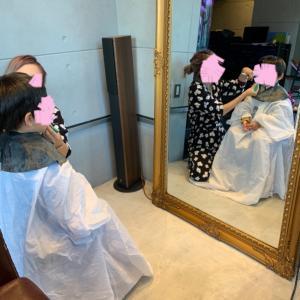 【子供のヘアカット】初の美容室!意外すぎる子供達の様子☆
