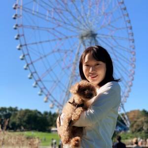 晴天の葛西臨海公園でのんびりお散歩♡