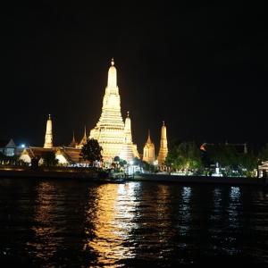 初めてのバンコク旅行15 ディナークルーズ3