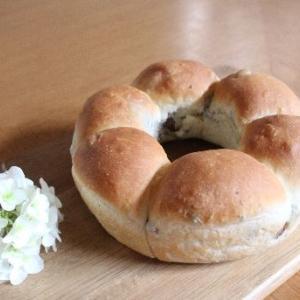 レーズン入りちぎりパン♪