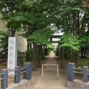 東久留米市八幡町の由来となっている八幡神社は新田義興が勧請か前沢御殿とともに造営か