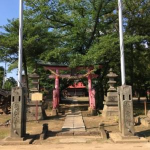 さいたま市の二ツ宮には二宮神社があるのではなく二つの宮が並んでいる