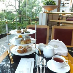 帝国ホテル大阪「ビュッフェ&ラウンジ ザ・パーク」のアフタヌーンティー