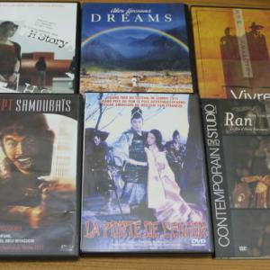 フランス版 黒澤明の映画DVDなど買取