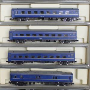 Nゲージ・ブルートレイン 車輌6両セット