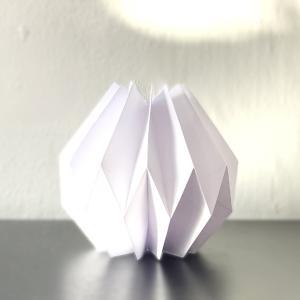【手作り】【紙工作】プリーツ仕立ての置き物