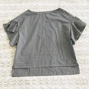 作りました(^^) 【きれいな服】より リトルスリーブのブラウス