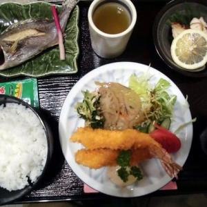 1160) 松幸日替わりランチ ~いさきの塩焼き/エビフライ/鶏の照り焼き