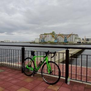 千葉ポートパーク周辺をサイクリング
