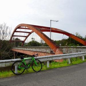 花見川サイクリングコースを弁天橋まで