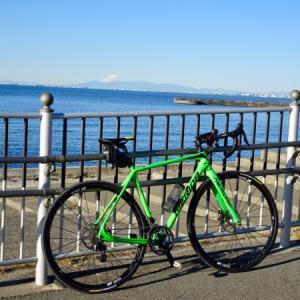 今年初めて自転車に乗りました。