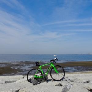 久しぶりにサイクリング(シクロ)