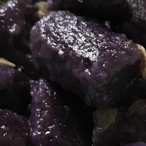 紫芋のニョッキ