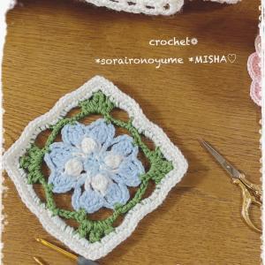 かぎ針編みで咲かせよう♡マロウ❁かわいいお花