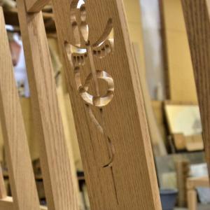 組木工房糸鋸刃の感謝ハガキを紹介