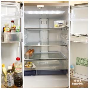 大掃除①冷蔵庫