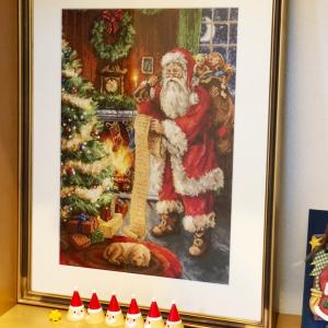 クリスマス作品を飾りました